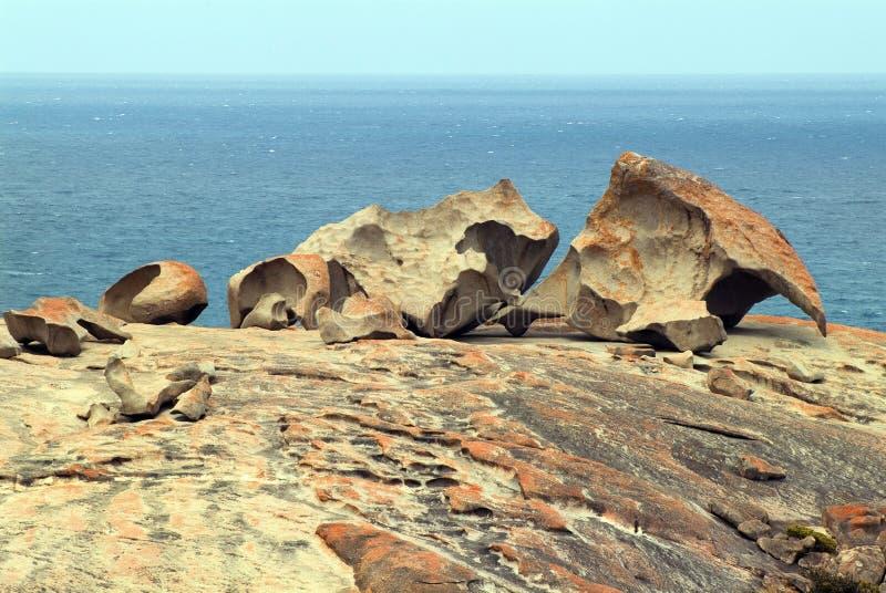 Australië, SA, Zuid-Australië, Remarkables, stock afbeelding