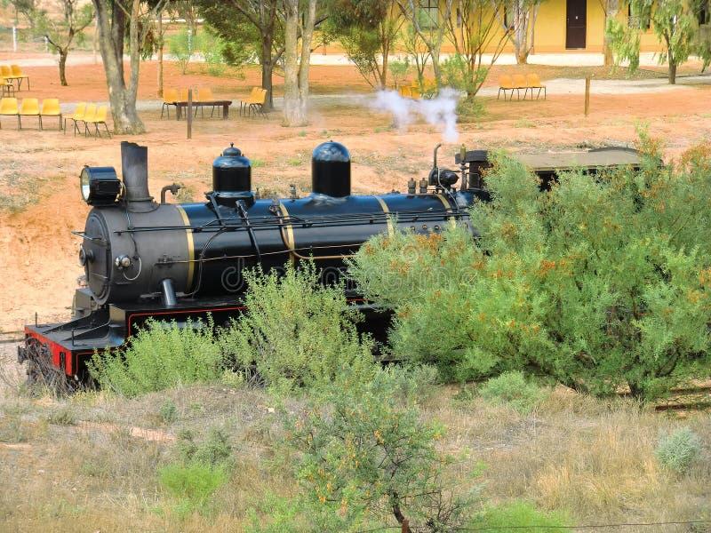 Australië, Spoorweg royalty-vrije stock foto