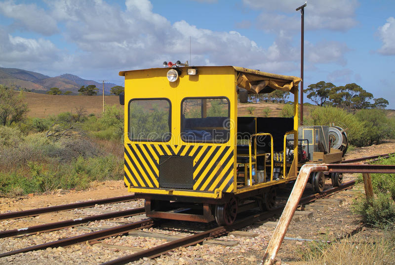 Australië, Spoorweg royalty-vrije stock afbeeldingen