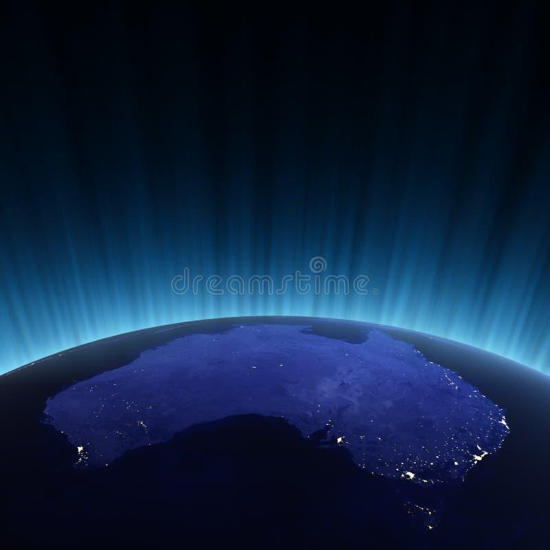 Australië van ruimte