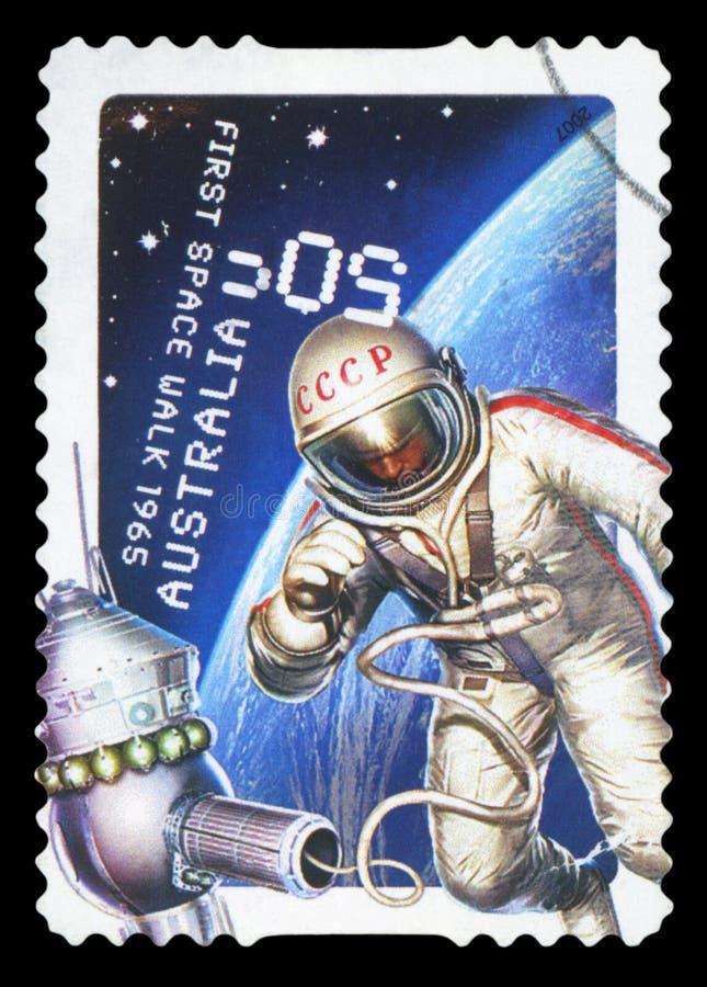 AUSTRALI? - postzegel royalty-vrije stock foto