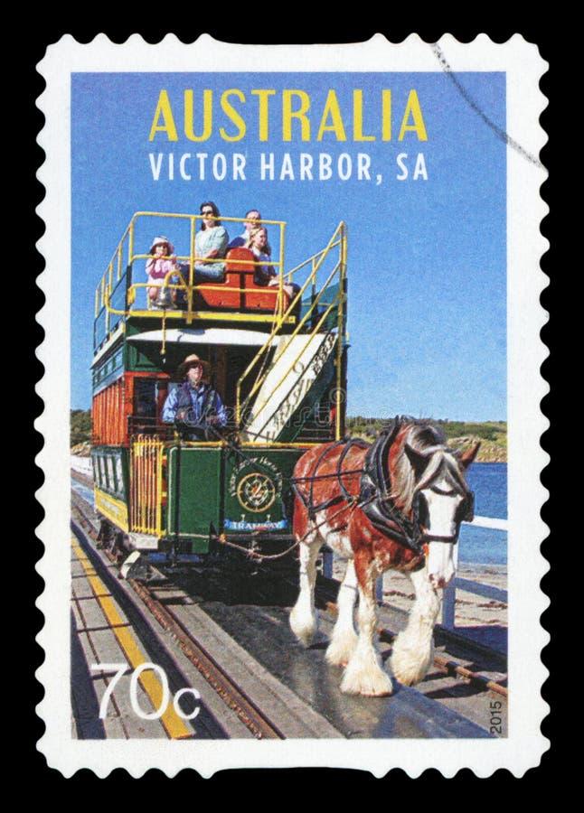 AUSTRALI? - postzegel stock foto's
