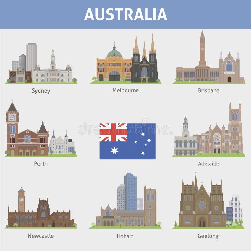 Australia. royalty ilustracja