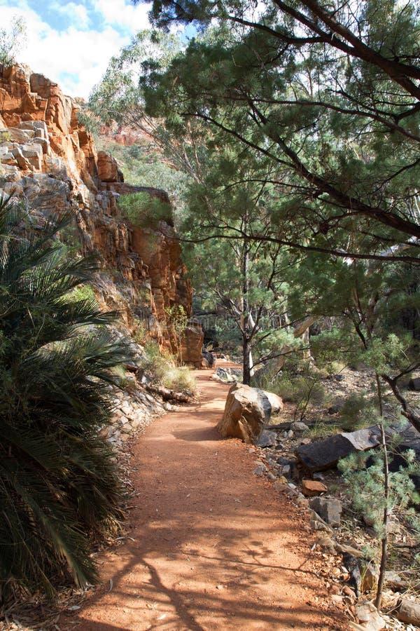 Australia, abismo de Standley, Mac Donnell National Park del oeste imagen de archivo