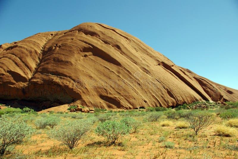 australia ayers rockowy uluru obraz stock