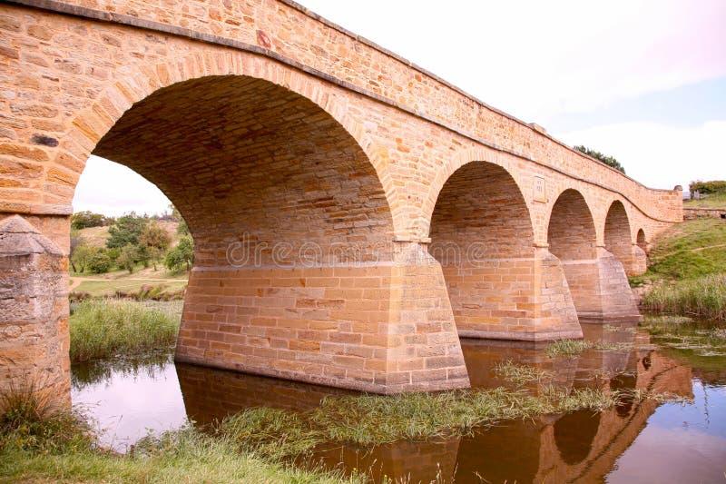 australia bridżowy Richmond Tasmania zdjęcie royalty free