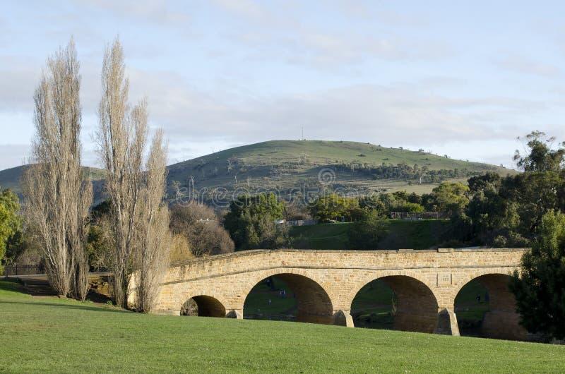 australia bridżowy Richmond Tasmania obraz royalty free