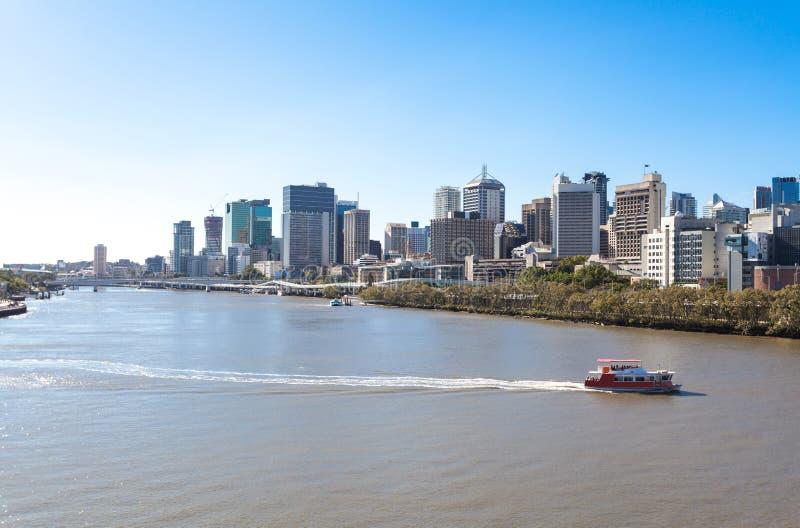 Australia, Brisbane miasto obraz stock