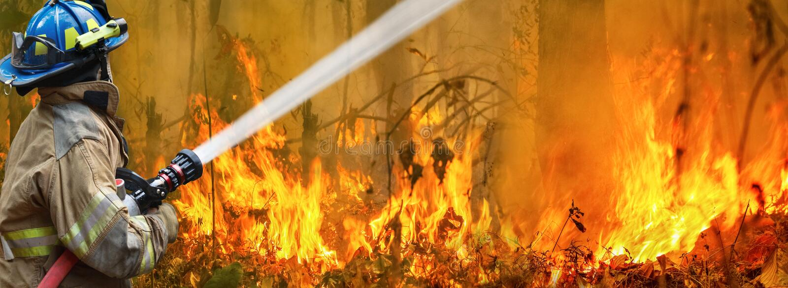 Australia bushfires, fire is fueled by wind and heat. Australia bushfires, The fire is fueled by wind and heat stock photos