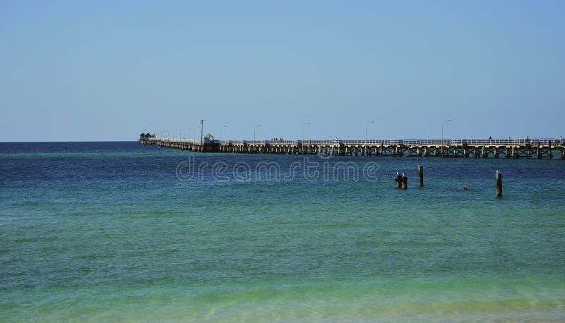 australia busselton jetty zdjęcie royalty free