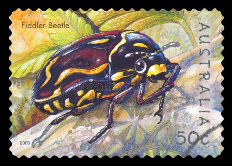 AUSTRALIA - Postage stamp stock photography