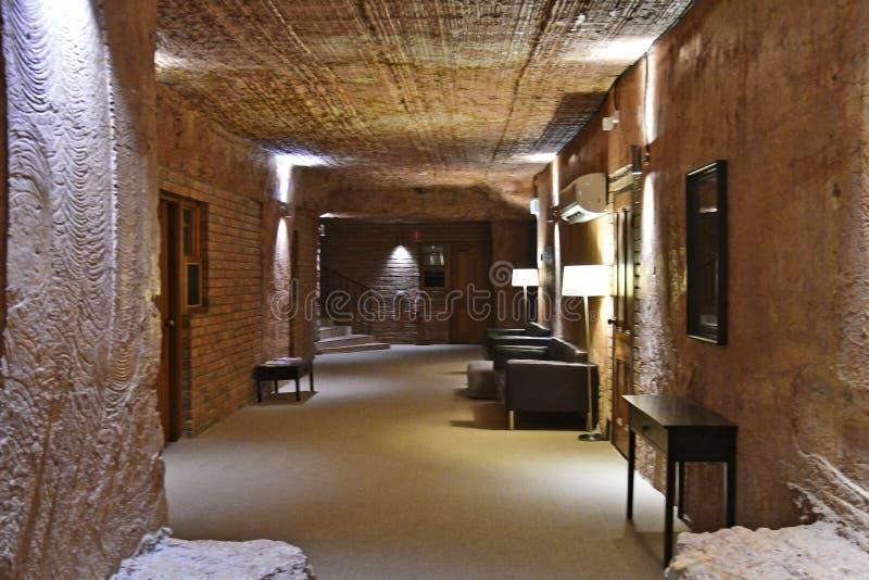 Australia, Coober Pedy, hotel subterráneo imagen de archivo libre de regalías
