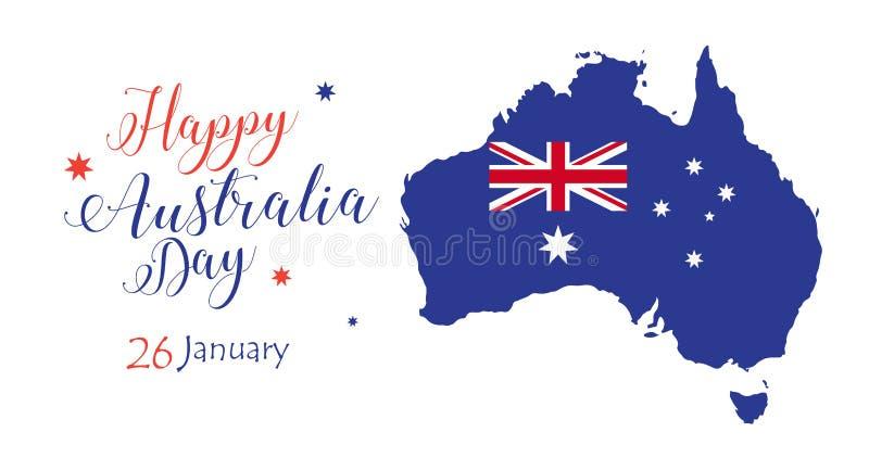 Download Australia day stock vector. Illustration of flag, blue - 83569518