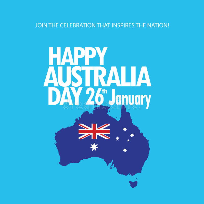 Download Australia day stock vector. Image of blue, asian, background - 83774549
