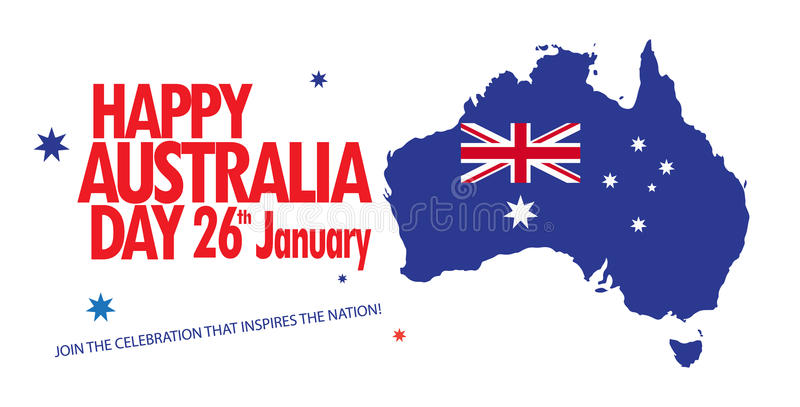 Download Australia day stock vector. Illustration of advertisement - 83774448