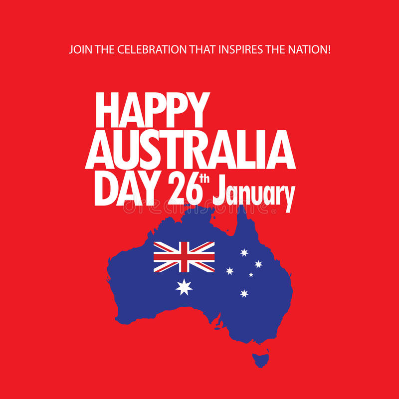 Download Australia day stock vector. Image of asian, event, congratulate - 83773777