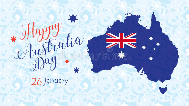 Download Australia Day stock vector. Image of blue, australia - 83773657