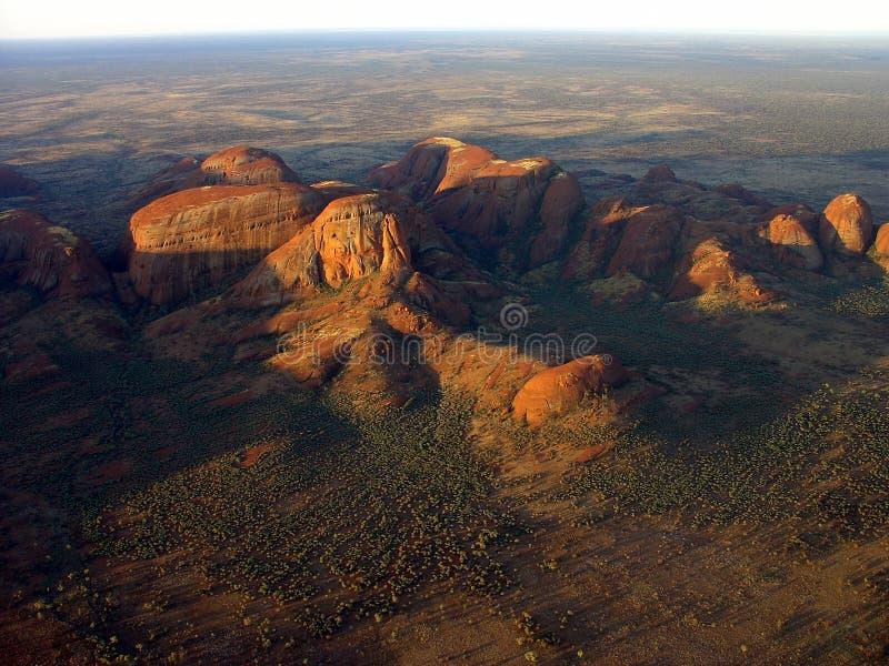 Australia - el Olgas fotografía de archivo