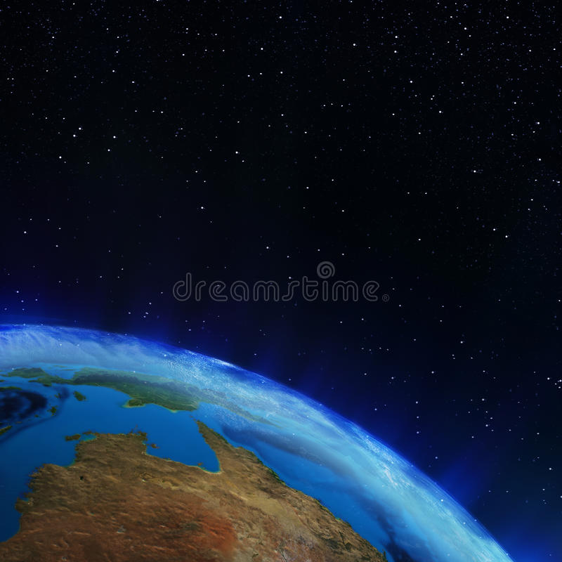 Download Australia stock illustration. Illustration of stars, landscape - 42997122