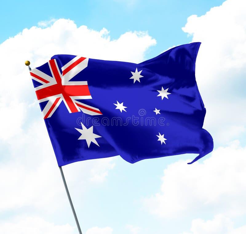 australia flagę fotografia royalty free