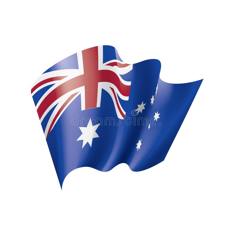 Australia flag, vector illustration vector illustration