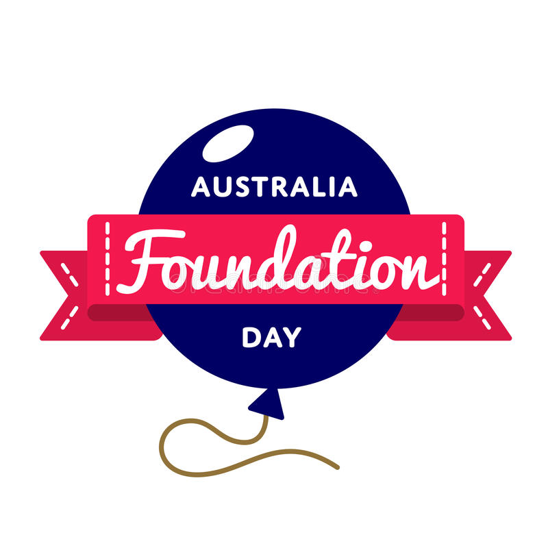 Australia foundation day greeting emblem stock vector illustration download australia foundation day greeting emblem stock vector illustration of drawn australia 85762588 m4hsunfo