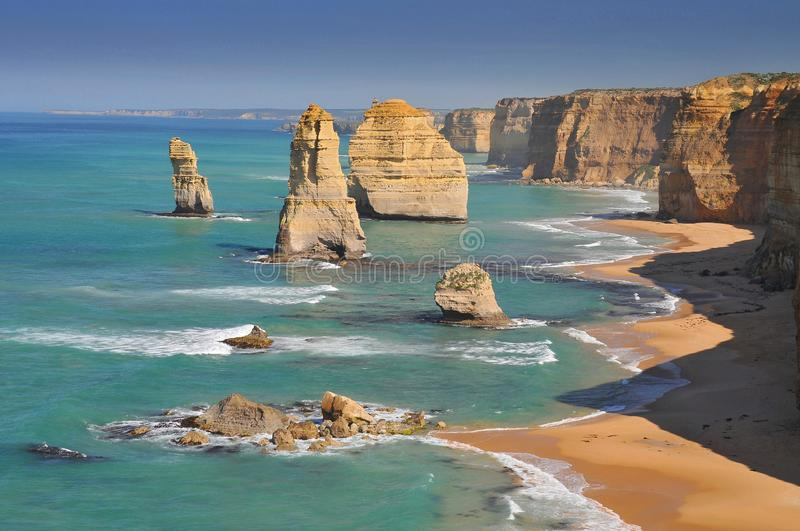 Australia, Great Ocean Road, The Twelve Apostles. stock photos
