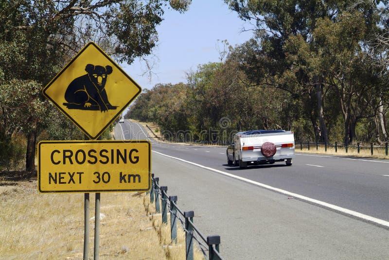 Australia, Highway stock image