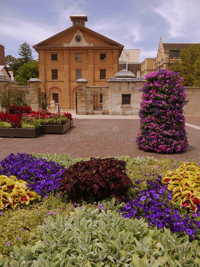 Australia: Hyde Park Barracks Sydney royalty free stock photography