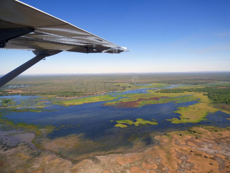 Australia, kakadu national park. Australia,kakadu national park, flight over the natural park royalty free stock image