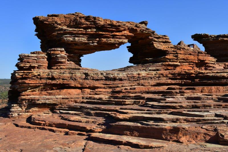 Australia, WA, Kalbarri NP, Natures window stock photography