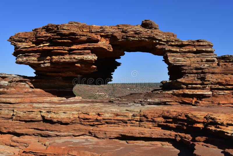 Australia, WA, Kalbarri NP, Natures window stock images