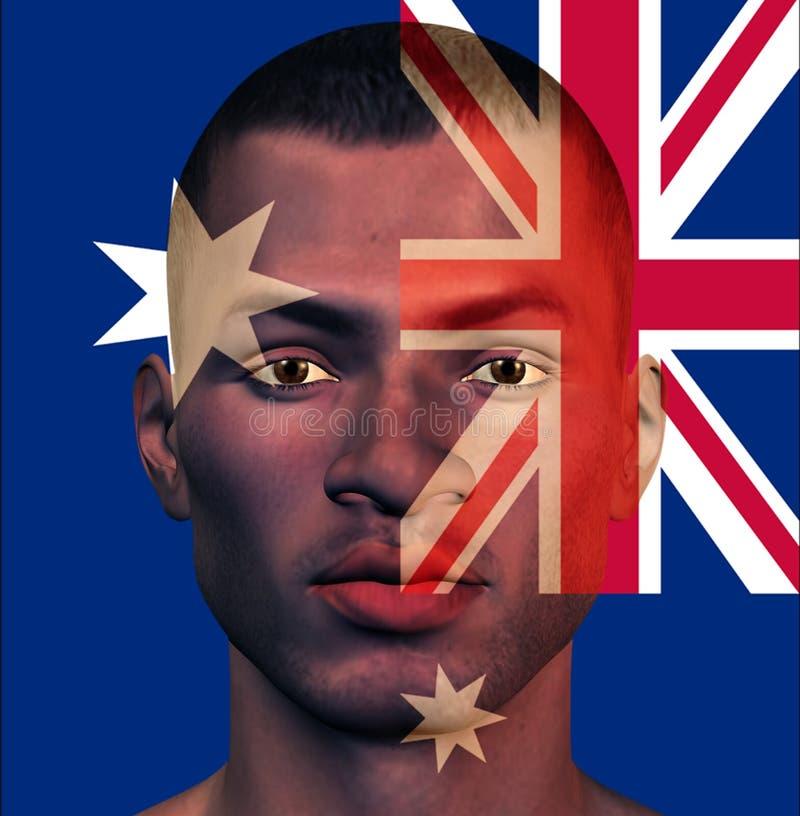 Download Australia Man stock illustration. Image of australasia - 25638280