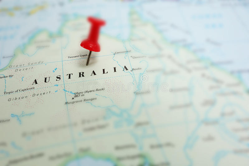 Download Australia map stock image. Image of location, tourism - 33165587