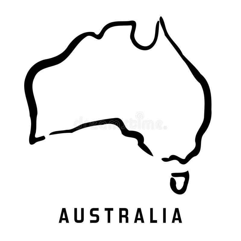 Australia Map Clipart.Australia Map Stock Illustrations 30 672 Australia Map Stock