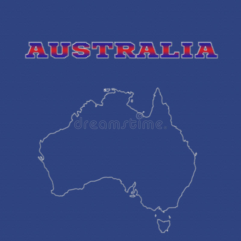 Download Australia stock illustration. Illustration of path, pasific - 40077355