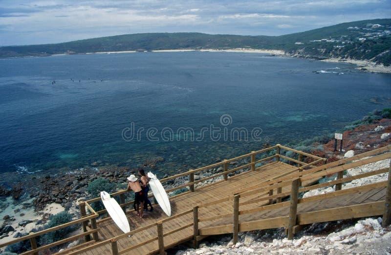 australia Margaret raju rzeczni surfingowowie zachodni zdjęcia royalty free