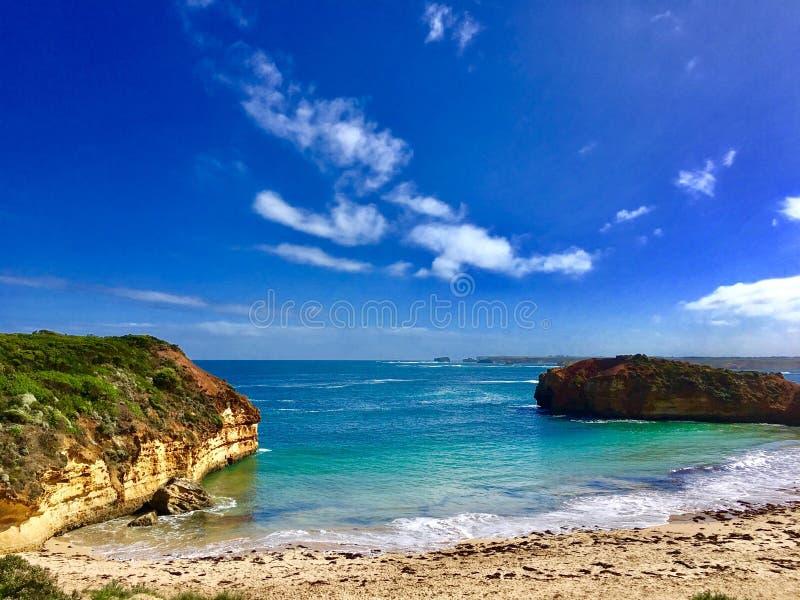 Australia@Melbourne~Greant海洋Road~ 免版税图库摄影