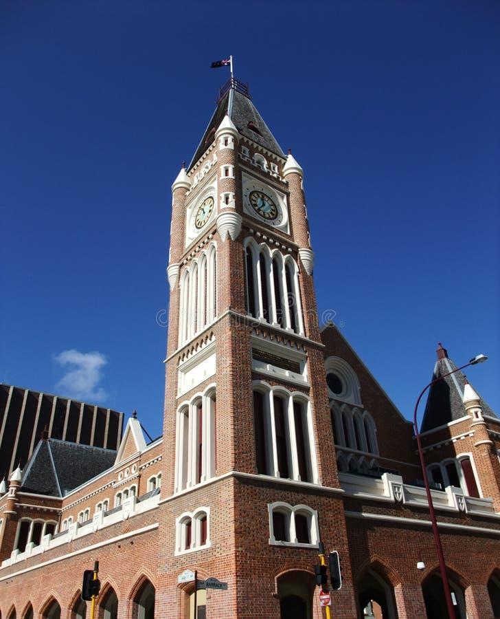 australia miasta zegaru sala lokalizować Perth western basztowego grodzkiego zdjęcia royalty free