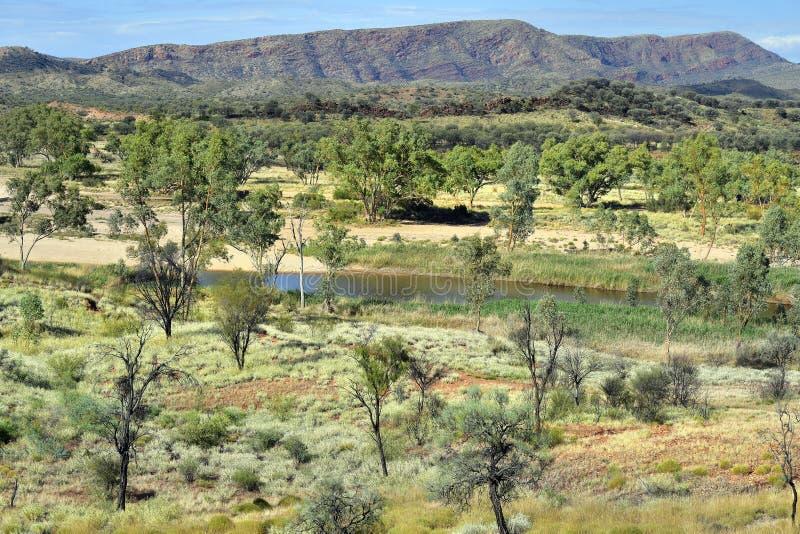 Australia, Northern Territory, Outback, Finke River royalty free stock photo