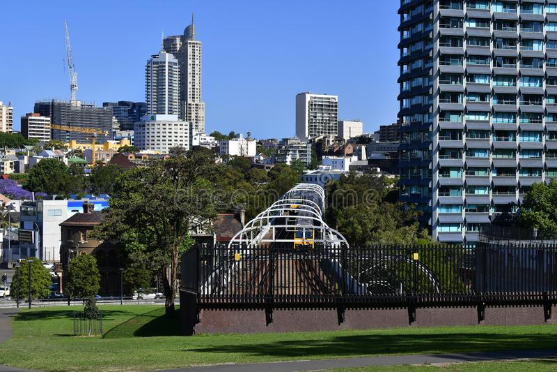 Australia, NSW, Sydney, railway stock photography