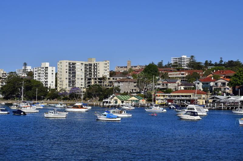 Australia, NSW, Sydney, Manly Harbor royalty free stock photography