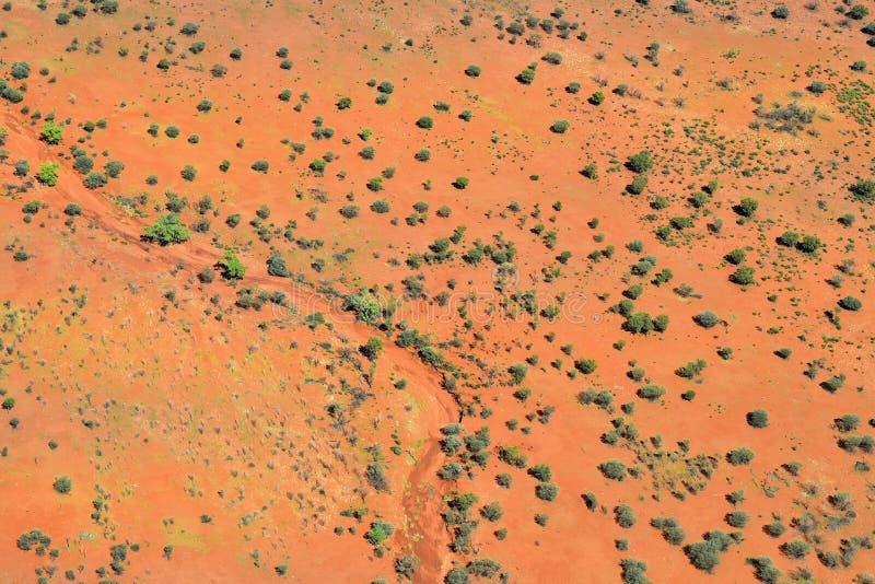 Australia, NT, interior, visión aérea foto de archivo libre de regalías