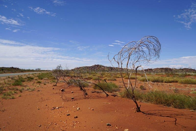 Australia occidental interior foto de archivo