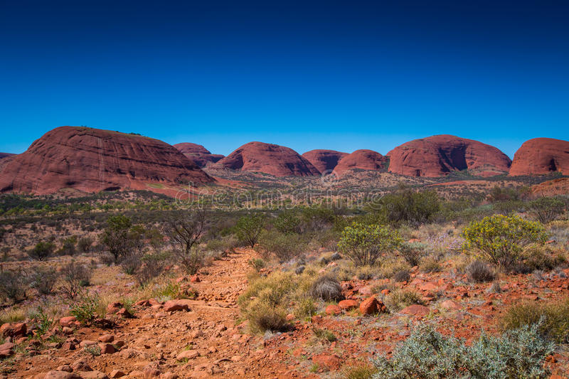 Australia outback landscape view royalty free stock images