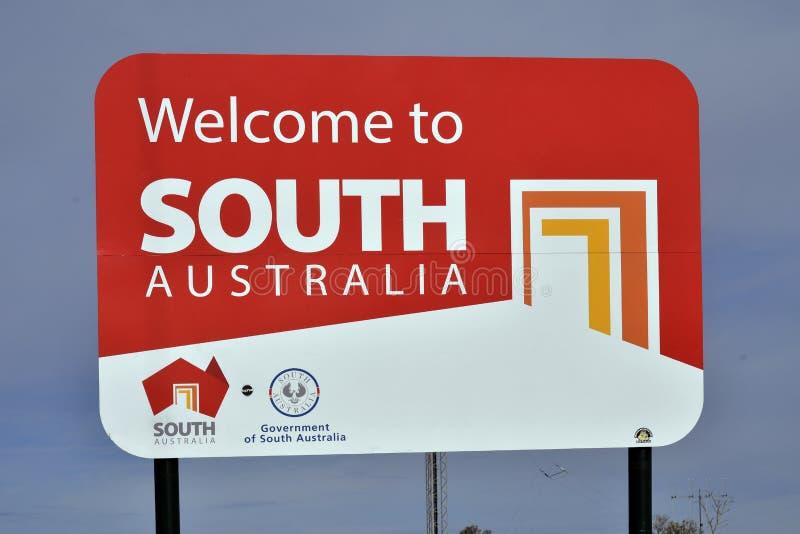 Australia, Południowy Australia, granica zdjęcia royalty free