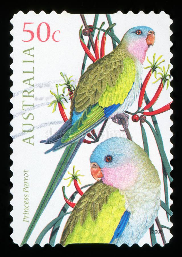 AUSTRALIA - postage stamp vector illustration