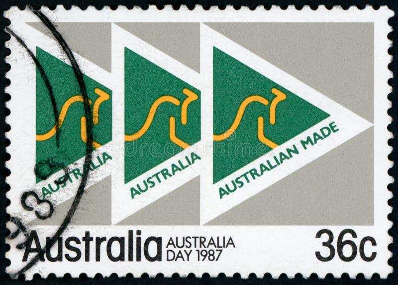 Australia Postage stamp stock images