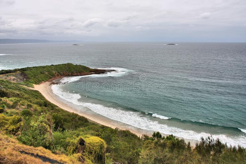 Australia pusta plaża fotografia royalty free