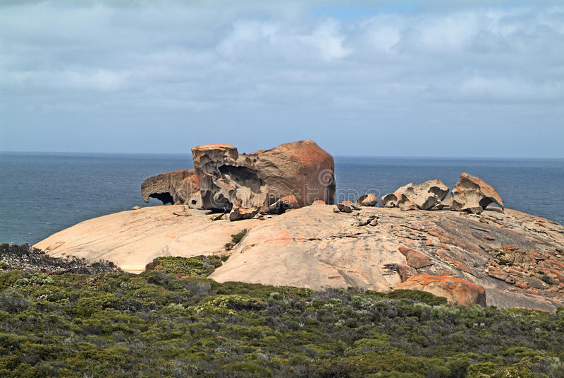 Australia SA, Remarkables, fotografia stock